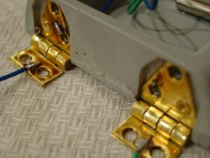 Hinges secured