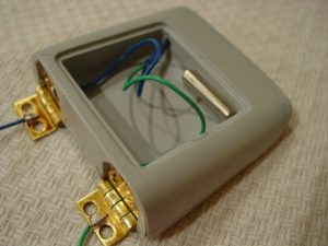 Magnet installed