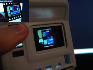 Test fitting the viewscreen