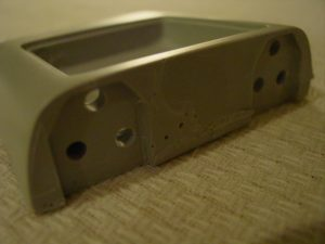 Holes drilled