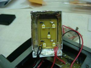 The viewscreen electronics