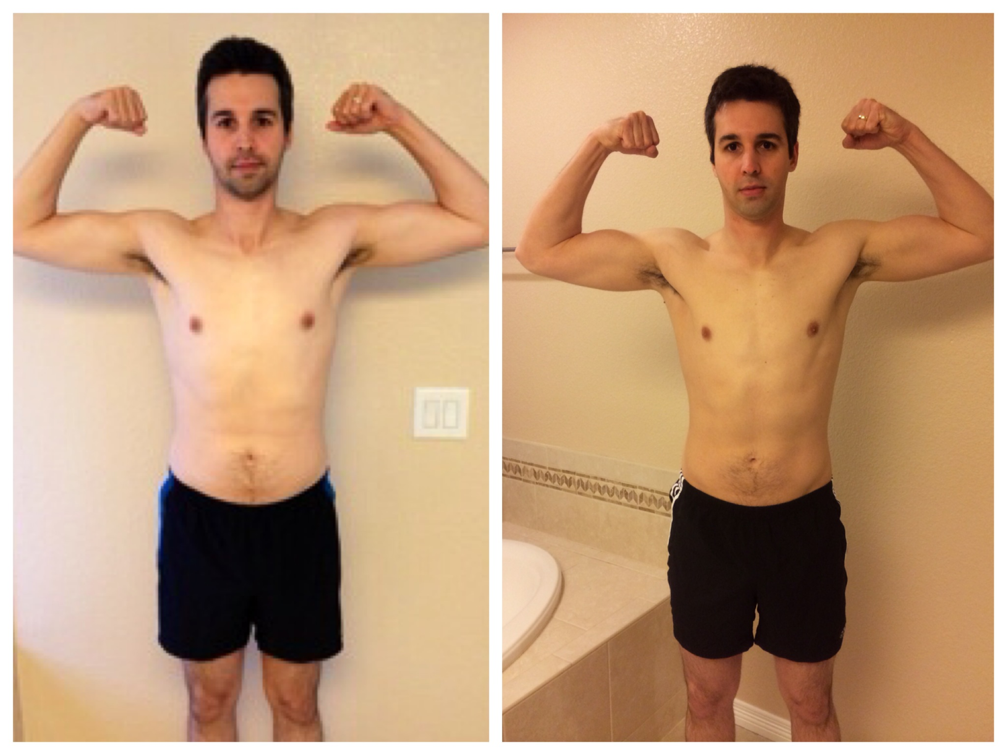 P90X2 Results - Front